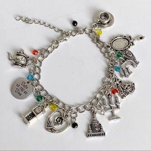 Jewelry - 🎉5/20 SALE🎉 beauty & the beast charm bracelet
